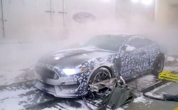 Ford's Extreme Weather Room for Testing Cars