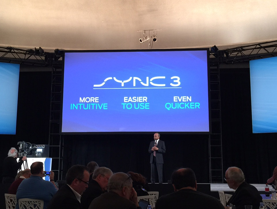 Ford Announces SYNC 3