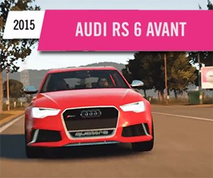 Audi RS6 Avant Now in the U.S. (on Xbox One)