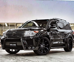 Amazing Toyota Land Cruiser 200 by GMG 88