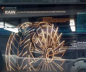 Hankook's Amazing Futuristic Tire Concepts