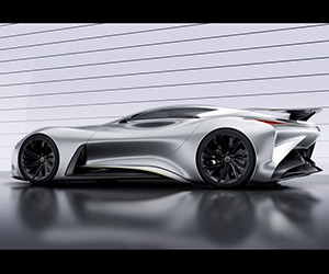 Infiniti Vision GT Racer: A Sensual Beast