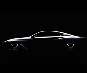 Infiniti Teases Q60 Concept Before Detroit