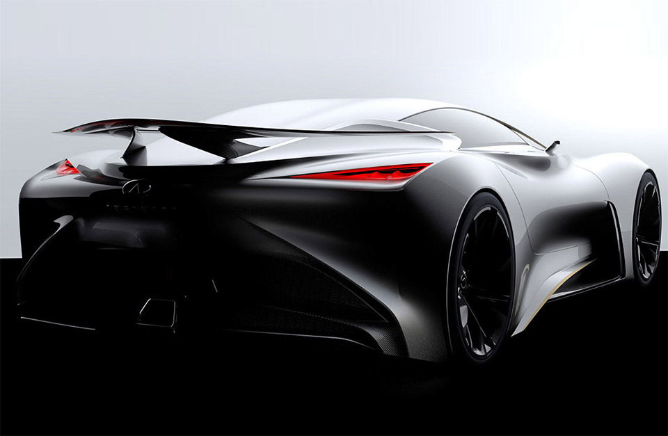Infiniti Teases Vision GT Gran Turismo Racer