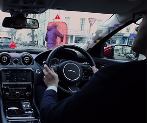 "Jaguar Land Rover Shows ""Transparent Pillar"" Tech"
