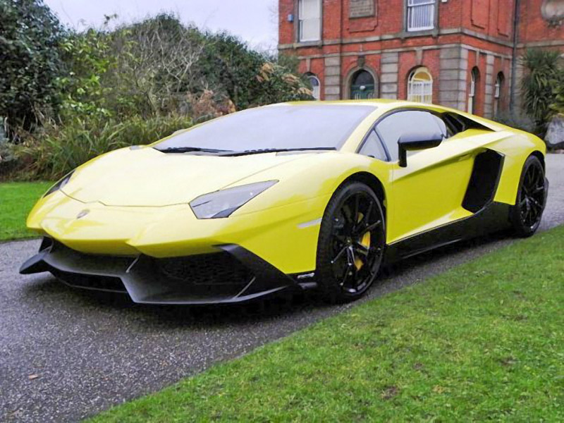 50th Anniv. Lamborghini Aventador up for Sale