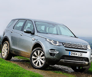 A First Look at the 2015 Land Rover Discovery Sport
