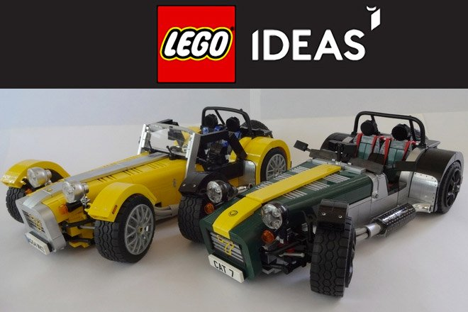 Vote to Make LEGO Caterhams a Reality