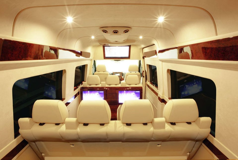 Lexani Motorcars Creates Escalade Home Theater - 95 Octane