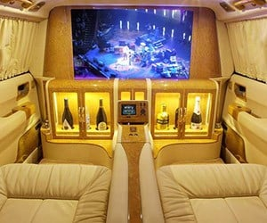Lexani Motorcars Creates Escalade Home Theater
