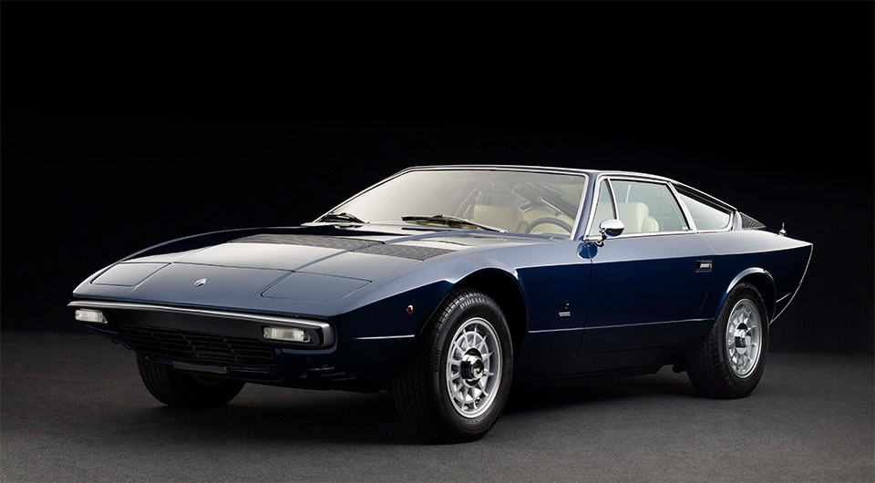 Awesome Car Pic: 1975 Maserati Khamsin