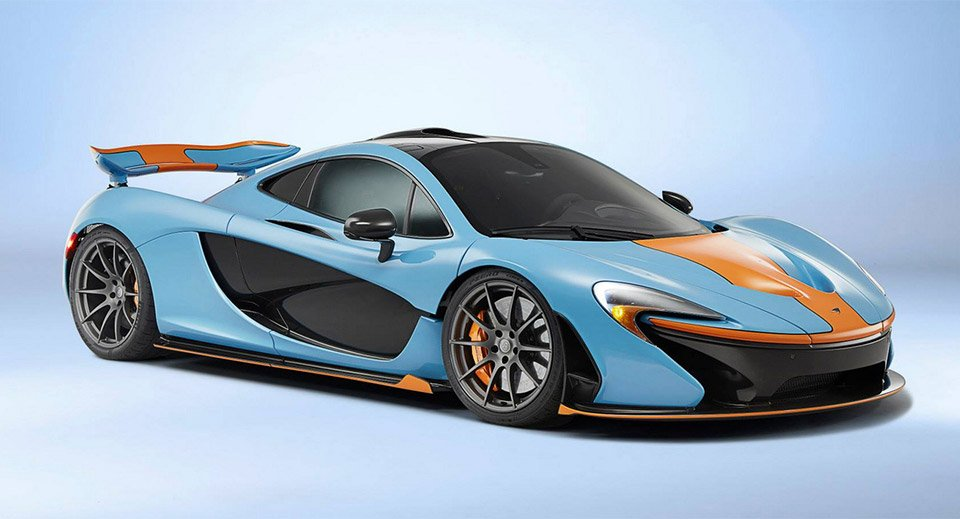 McLaren P1 Gets Amazing Gulf Livery