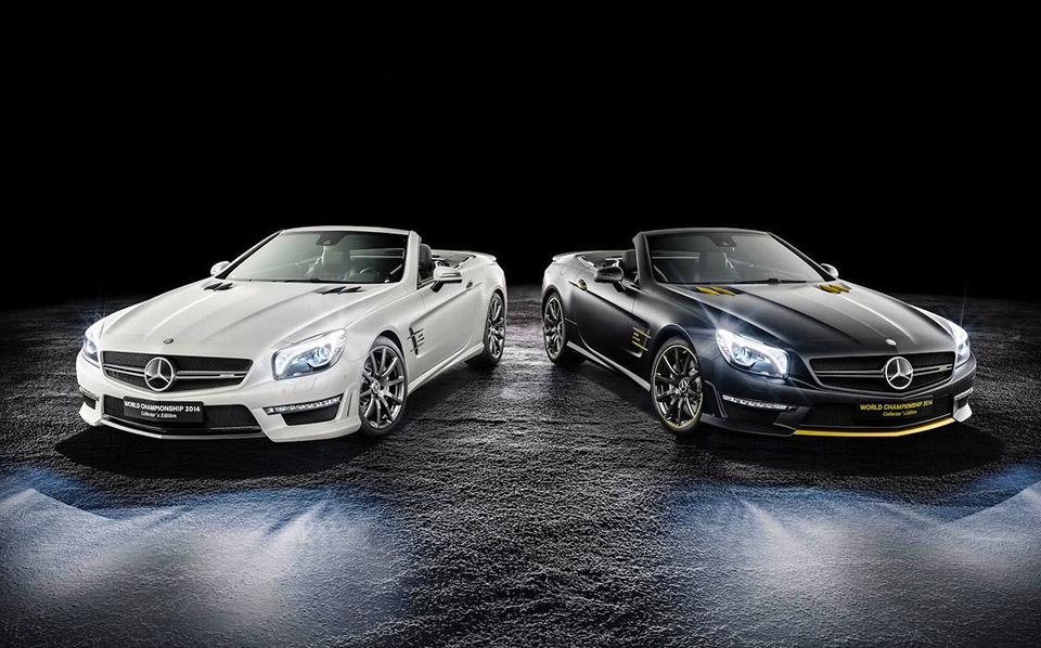 2014 Mercedes-Benz SL 63 AMG World Championships
