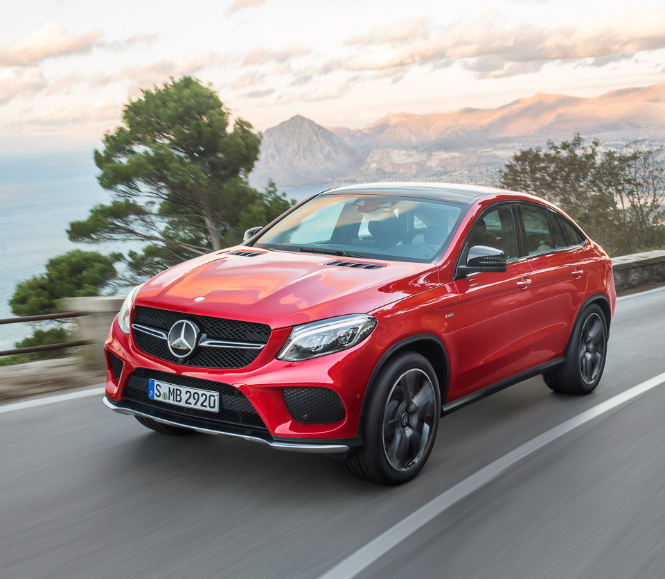 2016 Mercedes Benz Gle Coupe Exterior: 2016 Mercedes-Benz GLE 450 AMG 4MATIC