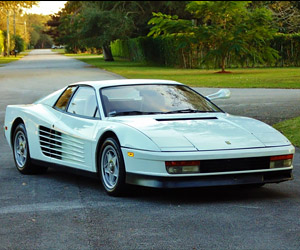 Miami Vice Ferrari Testarossa for Sale