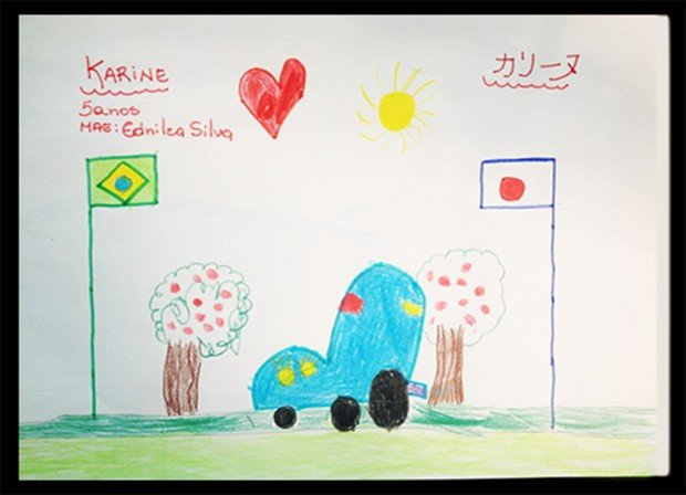Car drawings made by kids become sketches produced by Nissan Des