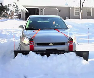 Nordic Auto Plow: Clear Your Drive with Your Car