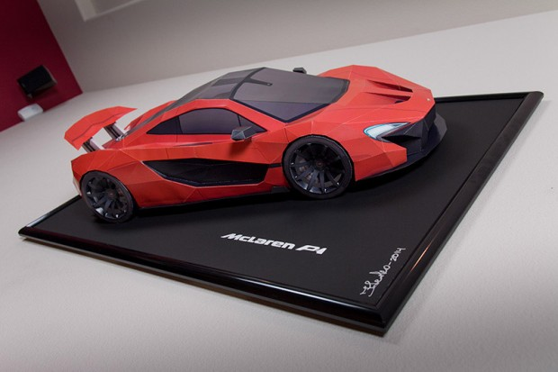 Own A Mclaren P1 For The Cost Of Paper And Tape 95 Octane