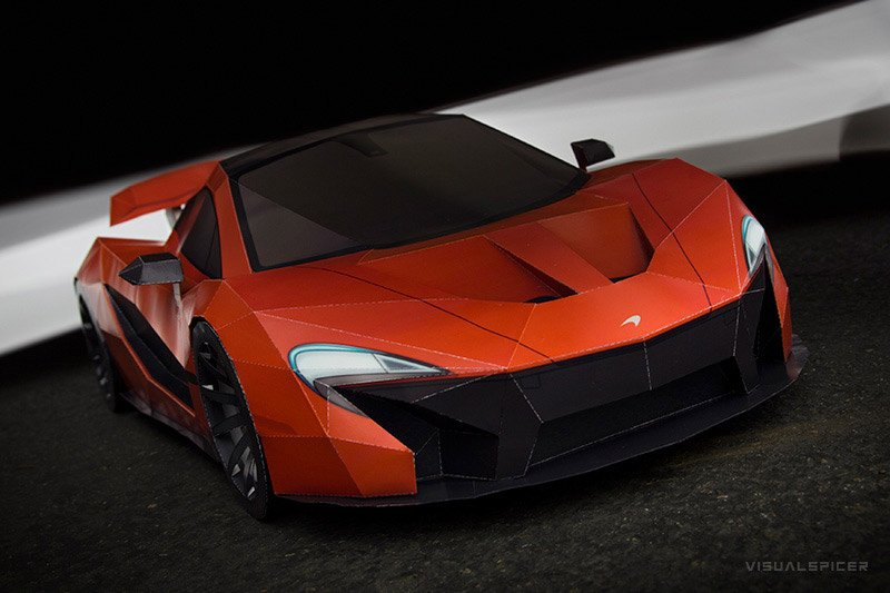 Own a McLaren P1 for the Cost of Paper and Tape