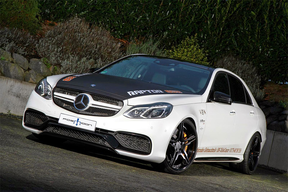 Posaidon Amps Mercedes-Benz E63 AMG to 841HP