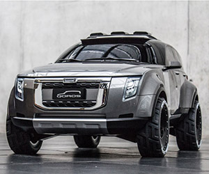 Russian Student Designs Ultimate Off-Road Vehicle