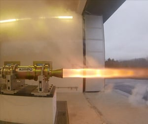 Bloodhound SSC Tests Its Rocket Engine