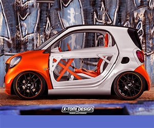 Designers Imagine Smart ForTwo Concepts