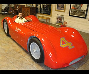Bill Vukovich's 1955 Indy 500 #4 Hits eBay