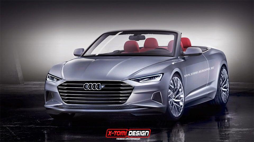 Audi Prologue Cabriolet Concept Rendered