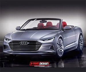 Audi Prologue Cabriolet Concept Rendered