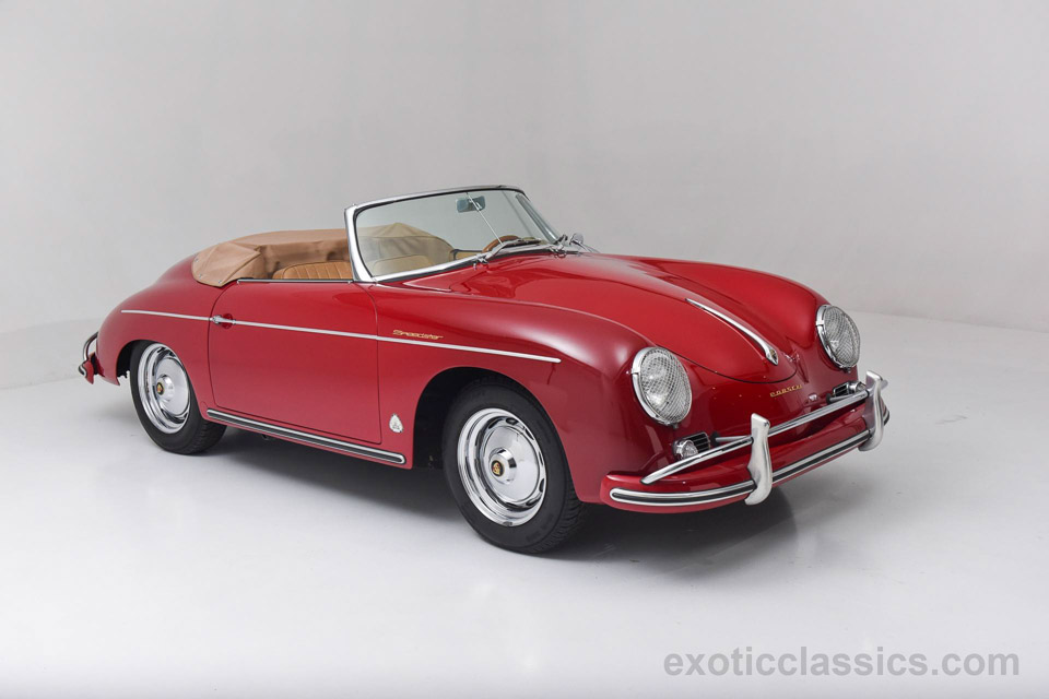 Awesome 1959 Porsche 356A Speedster For Sale