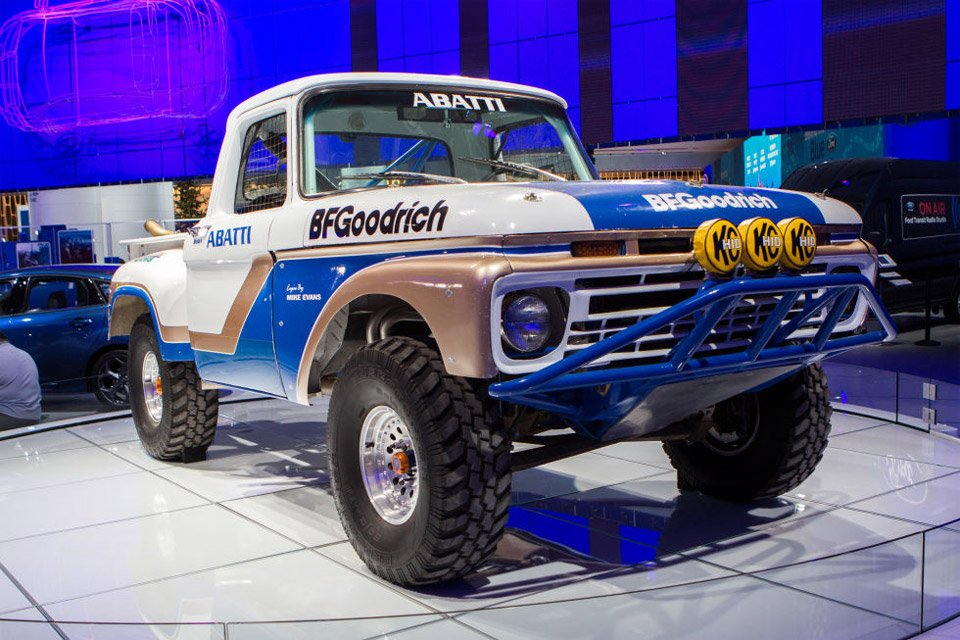 Ford F 150 Shelby >> 1966 Ford F-100 Turned into Epic Baja Racing Truck - 95 Octane