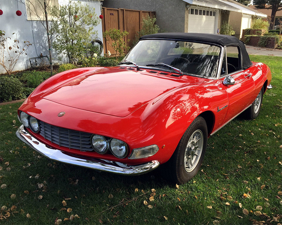 1967 Fiat Dino 2L Spider for Sale on eBay - 95 Octane