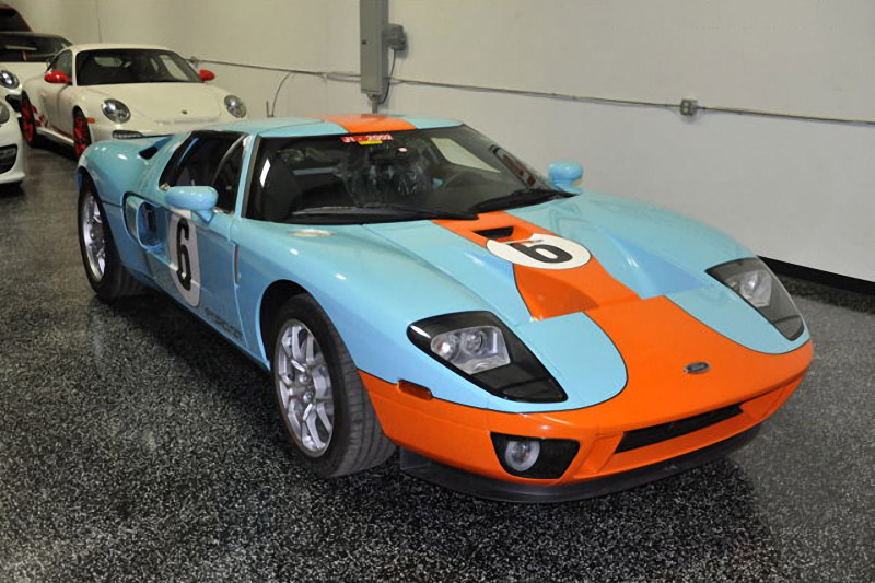 Low Mile 2006 Ford GT Heritage Hits eBay
