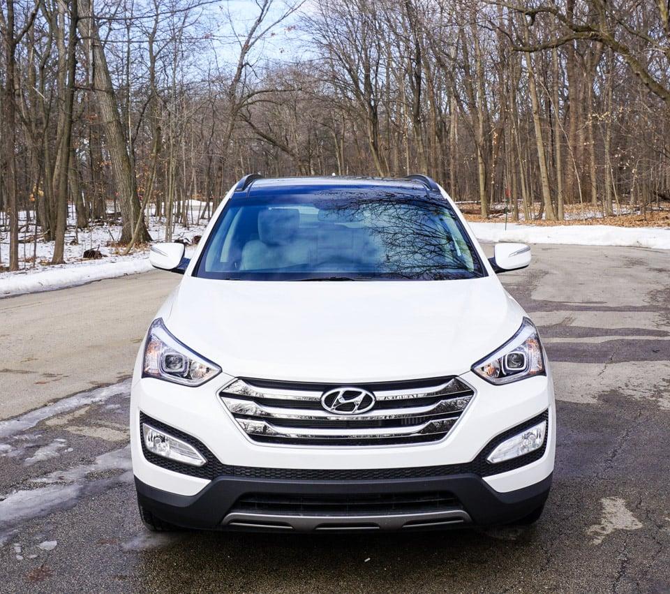 Top Of The Line Hyundai: Review: 2015 Hyundai Santa Fe Sport 2.0T AWD
