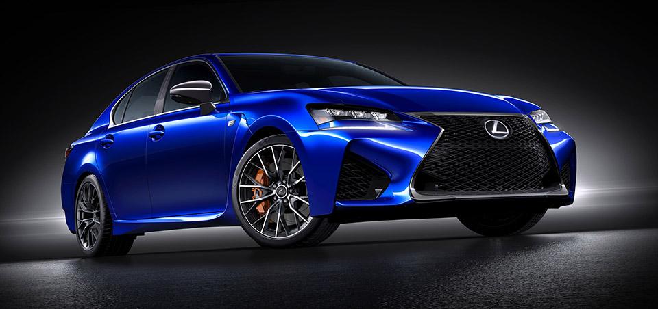 Lexus Announces GS F Sedan
