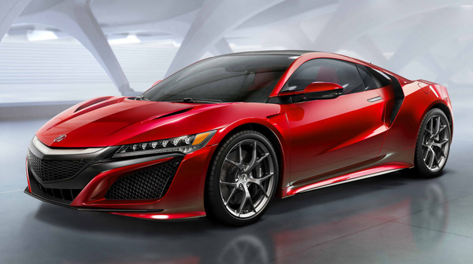 Production Acura NSX Finally Breaks Cover