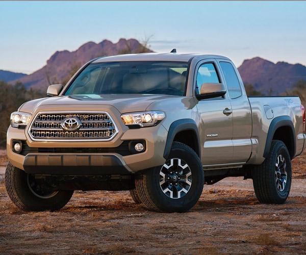 Toyota Tacoma Limited: Toyota Refreshes Tacoma For 2016