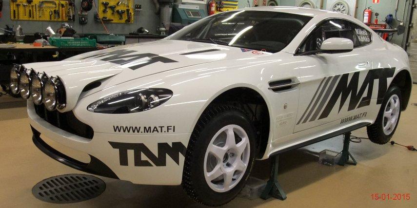 This Is an Aston Martin Vantage Rally Car