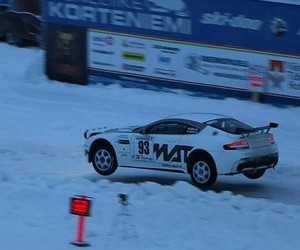 This Is an Aston Martin Vantage Rally Car