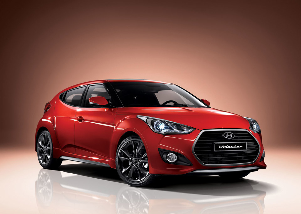 New Hyundai Veloster Gets 7-speed DCT