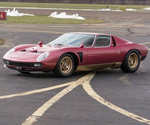1971 Lamborghini Miura SVJ Could Fetch $2 Million