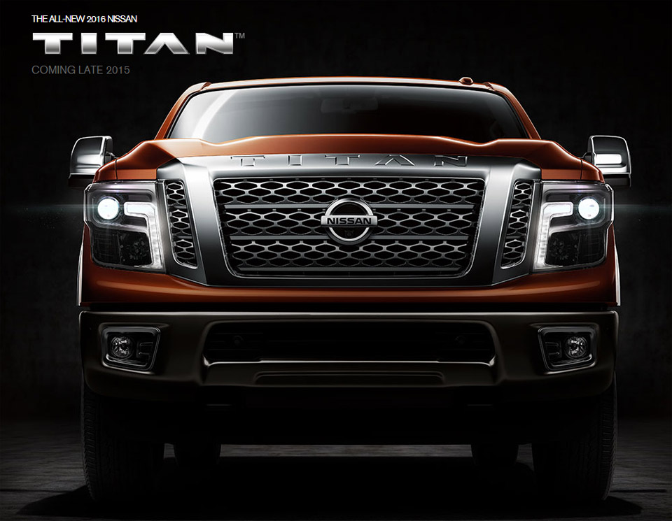 2016 Nissan Titan XD Gets New Style and Power