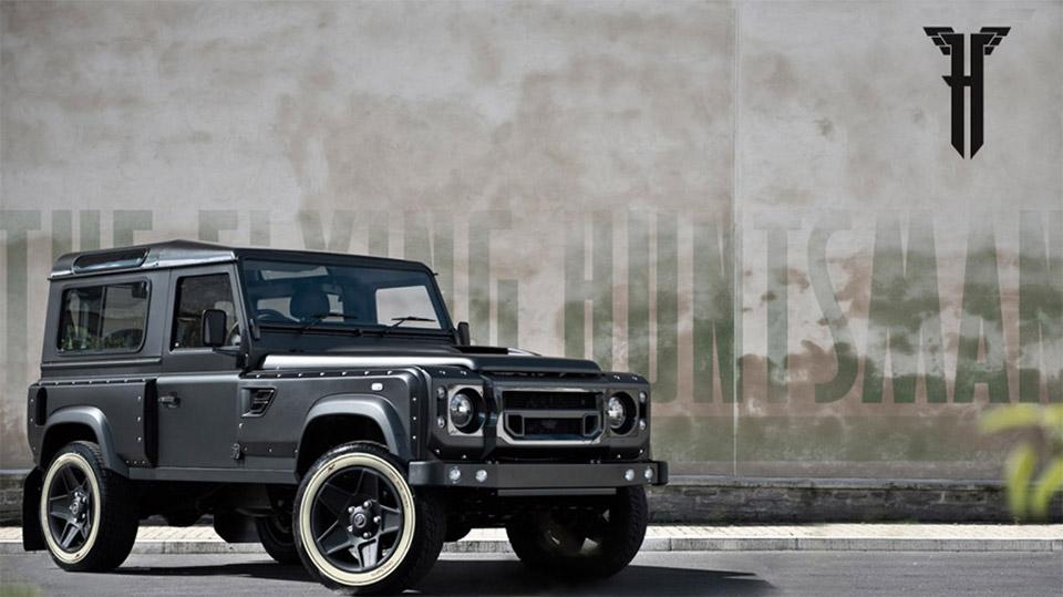 Kahn Design's Land Rover Defender Huntsman