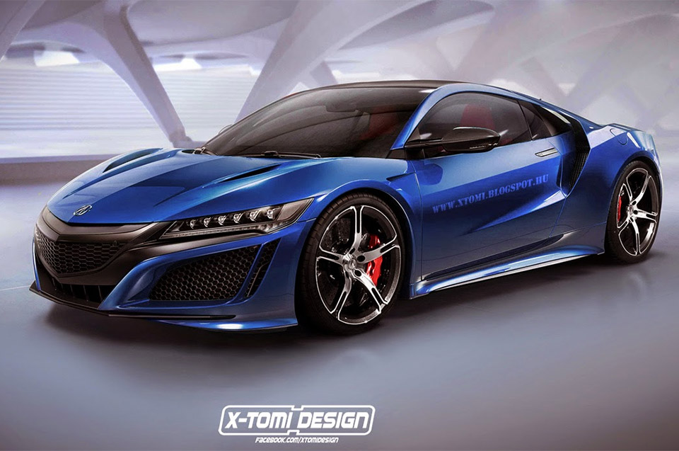 Acura NSX Type-R Rendered