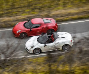 Alfa Romeo 4C Spider Gains only 22 Pounds