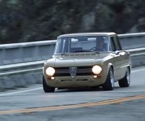 1970 Alfa Romeo Giulia is the Most Beautiful Ugly Car