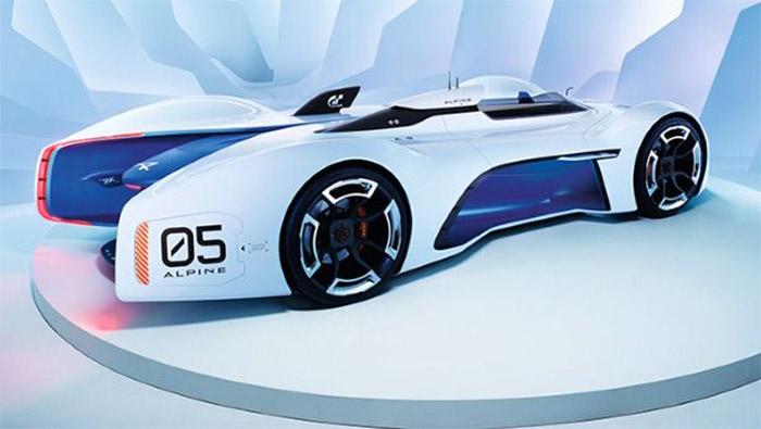 Alpine Vision Gran Turismo Concept Gets Official