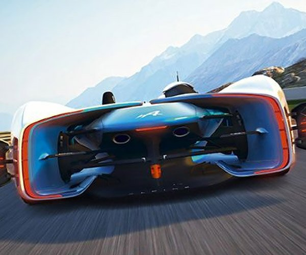 Alpine Vision Gran Turismo Concept Gets Official