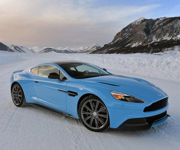 Winter Driving 2015: Aston Martins on Ice
